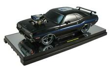 M2 1:18 SCALE 1970 DODGE CHALLENGER GROUND POUNDERS 75th ANNIVERSARY BLACK