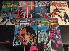 Kitty Pride And Wolverine, Incredible Condition 9.4(1984) 1-6 Complete!!