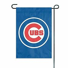 "MLB Chicago Cubs Sports Team Logo Garden/Window Flag 15"" x 10.5"""