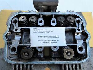 HONDA SUPERDREAM CB400N CB400N-E - CYLINDER HEAD LOW MILEAGE CONDITION