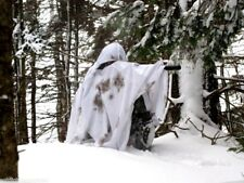 "German Army Snow Poncho / White "" Winter Camo ""  Grade 1 condition"