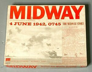 """Avalon Hill """"Midway"""" Board Game"""