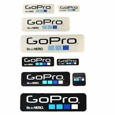 New 9Pcs Icon Logo Stickers Decal for GoPro Hero 4 3+ 3 2 1 Sports Camera Go pro