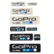 vinyl 9Pcs Icon Logo Stickers Decal for GoPro Hero 4 3+ 3 2 1 Sports Camera