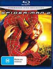 SPIDER-MAN 2 New Blu-Ray TOBEY MAGUIRE ***