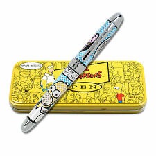 """Archived Simpsons """"Homey Lichtenstein"""" Limited Edition Roller Ball Pen NEW"""