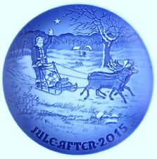 "Bing & Grondahl 2015 Annual Christmas Plate ""Santa's Presents"" New in Box"
