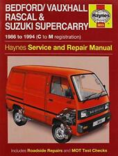 Bedford/Vauxhall Rascal Service and Repair Manual (Haynes Service and Repair Man