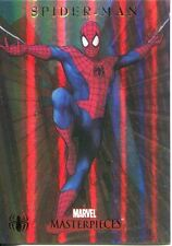 Marvel Masterpieces 2007 Spiderman Foil Parallel Chase Card S1 Spiderman