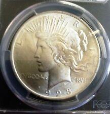1923 - P Peace Dollar PCGS MS65+ Silver Gem! Blast White! (7360.65+/29406053)