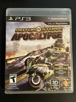 MotorStorm: Apocalypse (PlayStation 3) PS3 - W/ Manual -FAST SHIPPING