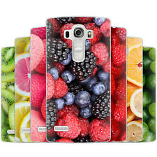Dessana Fruits TPU Silicone Protective Case Pouch Cover Fruits For LG