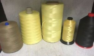 Spun Aramid Kevlar Thread, All Sizes, Made with Kevlar