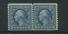1919 US Stamp #496a 5c Mint Hinged VF Original Gum Joint Line Pair Certified