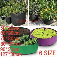 Garden Raised Fabric Bed Planting Flower Plant Elevated Vegetable Grow Bag Box