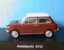 Autobianchi A112 marron Brun Starline 506847 1/43 White Roof toit Blanc Brown