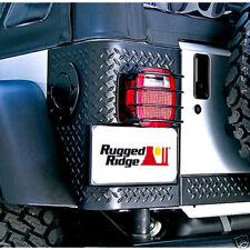 Taillight Tail Light Guards For Jeep Wrangler Tj Yj Cj Cj5 Cj7 Rugged Ridge Fits Jeep