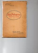 SAN  PELLEGRINO  TERME  , Bergamo , terme , Grand Hotel e Milan Hotel