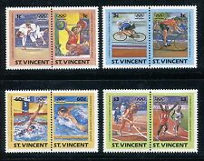St. Vincent 765-768 MNH, Olympics Los Angeles-1984 Judo, Weight lifting, x27875