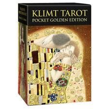 Klimt poche Golden Edition 78 Cartes Tarot Deck instructions par A. Atanas
