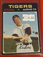 VINTAGE 1971 Topps Baseball Card Set #180 DETROIT TIGERS HOF - AL KALINE