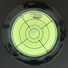 Niveau à Bulle d'Air Convexe en Acrylique Niveau de Surface Fiole de Niveau Rond