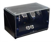 Pangaea Q340 Quad Four Watch Winder Battery or AC Powered Japanese Mabuchi Motor