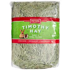 Peters Timothy Premium Grass Hay Rabbit Guinea Pig Food 1kg