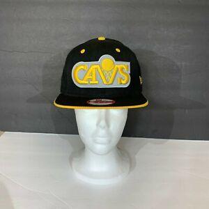 Cleveland Cavaliers Cavs NBA New Era 9Fifty Black & yellow Snapback Hat