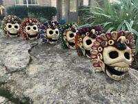 Aztec Death Whistle - White Colores