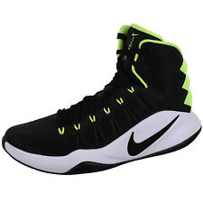 Nike Mens Hyperdunk 2016 Basketball Shoe Black/Volt 8.5