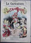"""Albert ROBIDA Journal LA CARICATURE N°27 1880 Couverture Couleurs """"Le Tambour"""""""