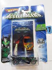 2004 Hot Wheels Acceleracers Rd - 10 #6/9 3 da Collezione Gioco Carte