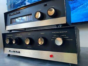 Vintage Heathkit SA-2 Stereo Tube Amp EL84 5AR4 + Bonus Model FM-4 Tuner PROJECT