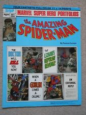 More details for amazing spider-man giant marvel super hero portfolio ~1981 ~ 4 spiderman prints