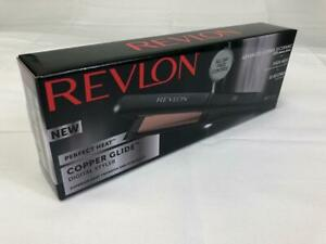 Revlon Salon Straight Copper Smooth Styler - 3x Ceramic Technology, Fast Heat-Up