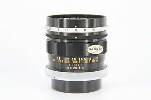 Canon FL 35mm f/2.5 for FL Mount - Sticky Aperture Blades - Professionally Te...