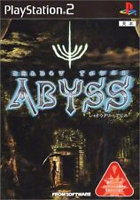 Used PS2 Shadow Tower: Abyss Japan Import