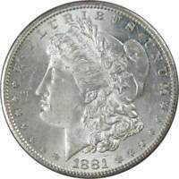 1881 S Morgan Dollar AU About Uncirculated 90% Silver $1 US Coin Collectible