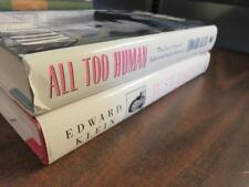 LOT 2 Edward Klein and Jackie Kennedy - Just Jackie & All Too Human SIGNED