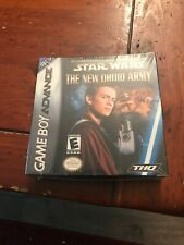 STAR WARS DROID ARMY - GAMEBOY ADVANCE - Factory Sealed Brand New
