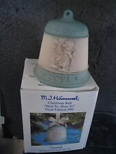 Hummel Goebel Hear Ye Hear Ye Bell 1991 3rd Edition Ltd Ed Mib