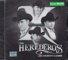 Los Herederos de Nuevo Leon Aniversario CD New Nuevo sealed
