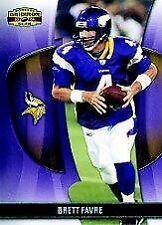 Serial Numbered Panini Brett Favre Single Football Cards