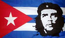 5' x 3' Che Guevara on a Cuba Flag Cuban Banner