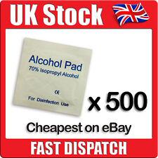 500 x IPA Wipes 70% Isoropyl Alcohol Swabs NHS Quality