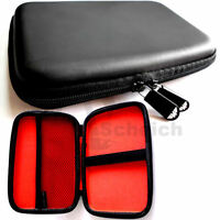 "Universal Hardcase Nylon Case Tasche Schutz Hülle 7 Zoll 7"" Display Navi Tablet"
