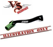 Apico Forged Gear Lever Kawasaki KXF450 06-08 Black and Green KX450F