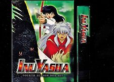 InuYasha - Complete Season 4 - Brand New 5-Disc Deluxe Edition Box Set