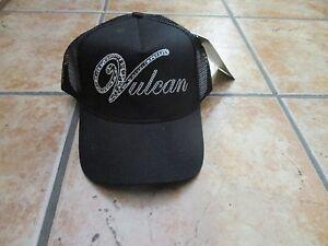 *Brand NEW* Womens Kawasaki Motorcycle cheetah Vulcan Cap Hat,  Black Snapback